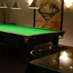 Golden Eye Bar - Snooker Tisch